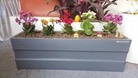 Sand Stone Grey Plastic Planter
