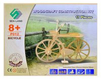 Wooden Construction Kit - Bicycle Educational Toys