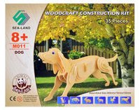 Wooden Construction Kit - Dog Educational Toys