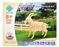 Wooden Construction Kit - Goat Educational Toys
