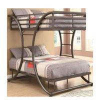 Wooden Ks-204 Bunk Bed