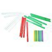 Natural And Transparent Plastic Buds Stick (Size: 62 Mm - 80 Mm)
