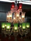 24 Lights 3 Colours Chandelier