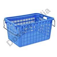 Plastic Blue Basket