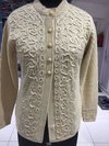 Ladies Embroidery Long Cardigan