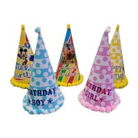 Conical Shaped Birthday Cap