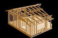 Wooden Log House