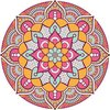 Printed Rangoli Floor Sticker