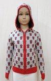 Boy Jacquard Hooded Sweater