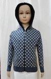 Jacquard Boy Kid Hooded Sweater