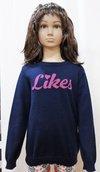 Intarsia Sweater Girl Kid