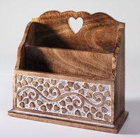 Stylish Wooden Letter Racks