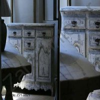 Attractive Design Painted Buffet
