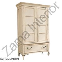 Fine Finish Painted Armoire