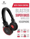 Blaster Bluetooth Headphones With Touch Control