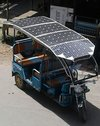 High Performance Solar Rickshaw
