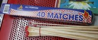 Long Stick Safety Matches