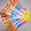 Ladies Viscose Tie Dye Umbrella Dress