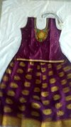 Sindu Kids Pattu Pavadai Dress