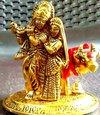 Cow And Radha Krishna Statue