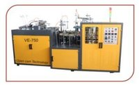 Fully Automatic High Speed Paper Cup Machine (Model No. Ve-750)