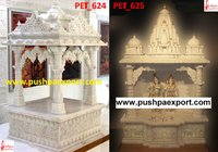 White Marble Carved Temple And Carving Mandir