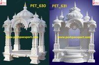 White Marble Carved Temple Stone Carving Mandir