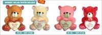 Bobby Teddy Bear With Heart