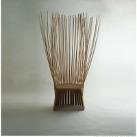 Wood And Bamboo Lounge Chair