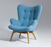Wooden Legs Siesta Lounge Chair