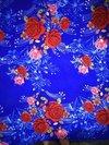 Blue Silk Furnishing Sheet