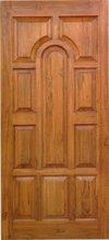 Half Padayappa Teak Wood Door