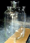 Cylindrical Glass Reactor/Vessels
