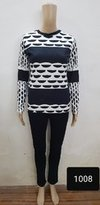 Plain Knitted Winter Top