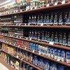 Supermarket Wooden Shelves