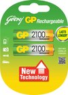Rechargeable Battery (Godrej Gp 2100 Aa Nimh)