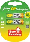 Rechargeable Battery (Godrej Gp 2700 Aa Nimh)