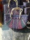 Kauna Grass Multicolour Straw Bags