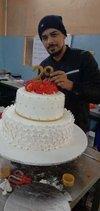 Fondant Designer Wedding Cake