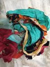 Polyester Multicolour Fabric Waste