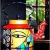 Exclusive Hand Painted Decorative Kettle