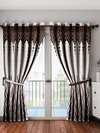 Printed Drawing Room Curtains