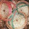 Round Wedding Kashmiri Willow Basket