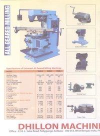 Geared Milling Machine