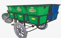 Containerized Garbage Cycle Rickshaw
