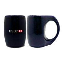 Promotional Custom Printed Blue Mugs