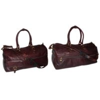 Spacious Leather Travel Bags