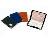 Leather Scorecard Holder, Size: 17x11 cm Diameter