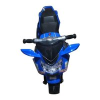 Blue Battery Operated Bike for Kids