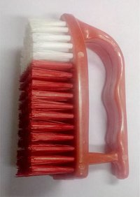 Plastic Press Handle Cloth Cleaning Brush